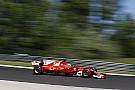 Hungarian GP: Vettel leads all-Ferrari front row, Hamilton fourth