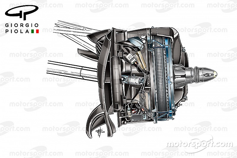 Revealed: Mercedes 2017 development front brake solution