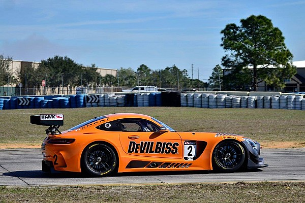 PWC Breaking news CRP Racing completes first test with Mercedes AMG GT3