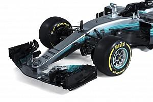 Látványos stúdióképeken a 2017-es F1-es Mercedes