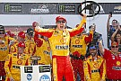 Logano wins Daytona Clash as leaders collide on final lap