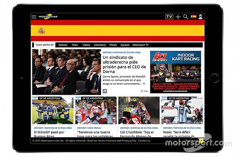 Through acquisition Motorsport.com launches new digital platform in Spain