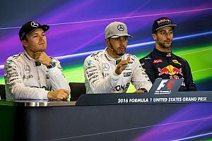 Formula 1 Press conference US GP: Post-race press conference