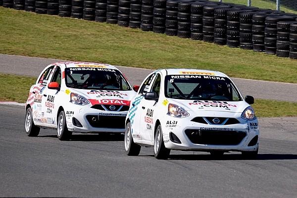 Coupe Nissan Micra Coupal gagne une deuxième course et devient champion de la Coupe Nissan Micra
