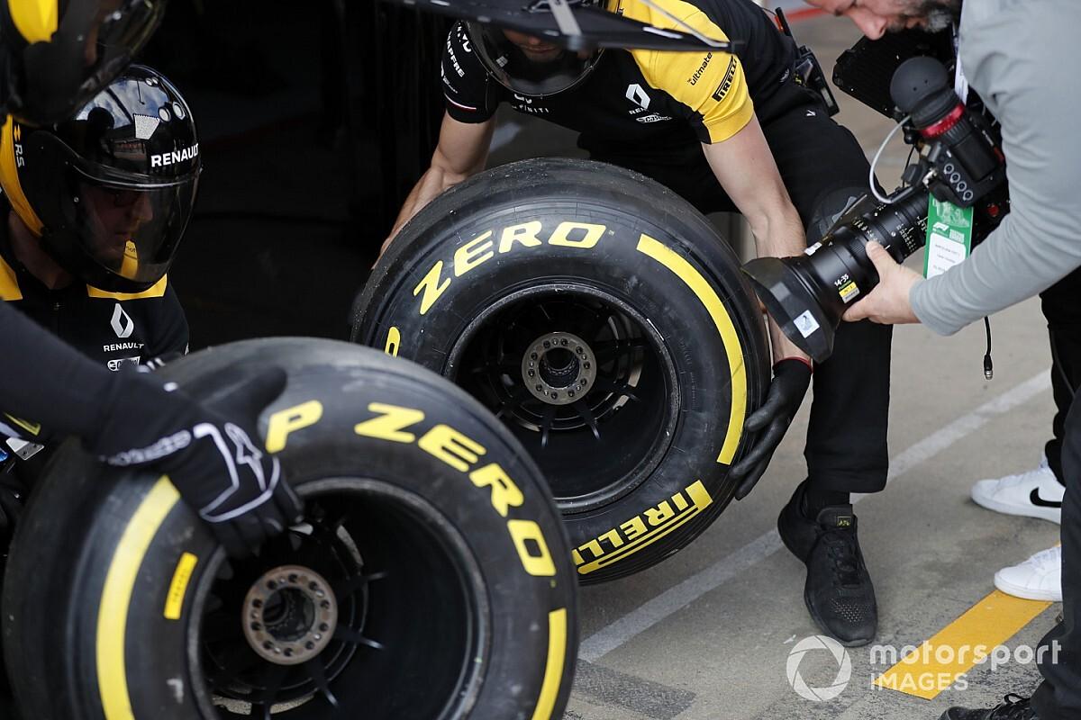Pirelli niega que haya suministrado menos neumáticos que en otras pretemporadas