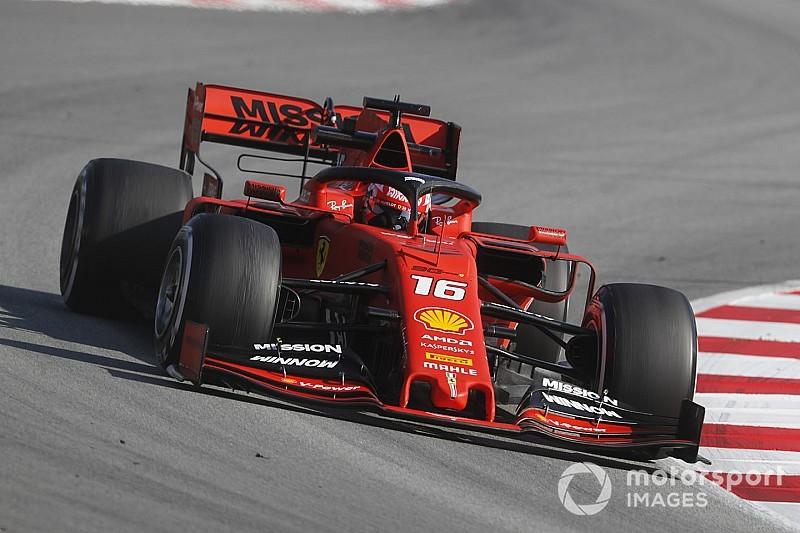 Leclerc domina y Gasly sufre un accidente en el penúltimo día de pruebas