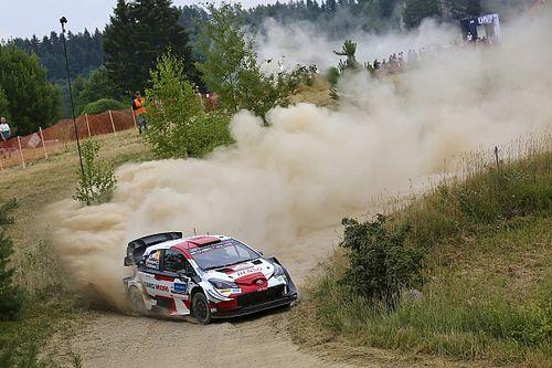 Estonia WRC: Rapid Rovanpera surges into comfortable lead