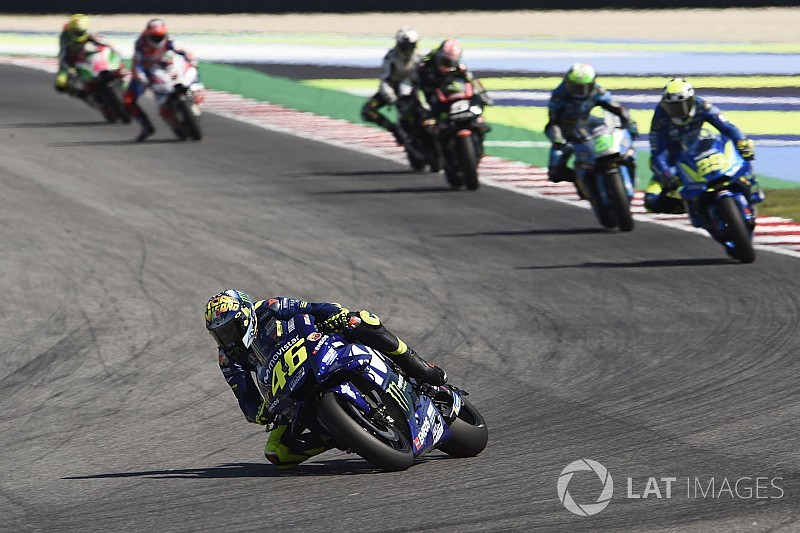 Rossi: Third in championship