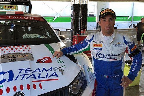 """Andolfi sul podio del WRC2 con il lutto al braccio: """"Dedicato alle vittime del ponte di Genova"""""""