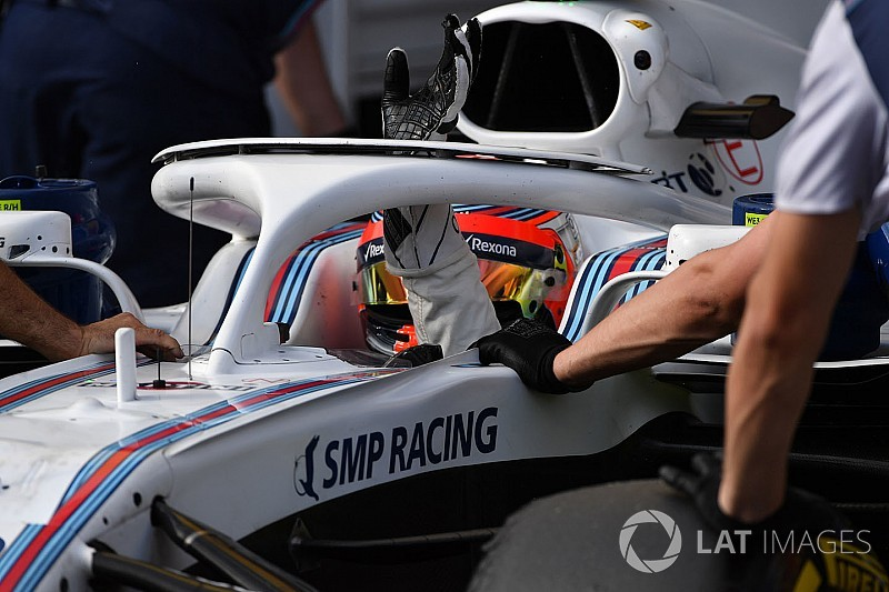 Kubica pilote à 70% avec la main gauche