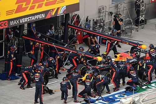 Red Bull en Rusia: ¡dos paradas por debajo de 1,90!