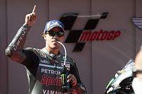 Morbidelli, Quartararo y Rossi en la primera línea en Barcelona