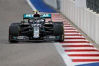 Bottas gana en Rusia tras sanción a Hamilton y Pérez es cuarto