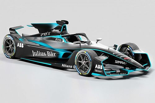 Formula E reveals first pictures of updated Gen2 EVO car