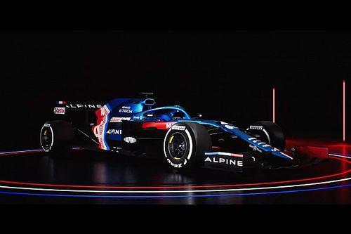 Íme Alonso és Ocon 2021-es kocsija, az Alpine A521! (galéria)