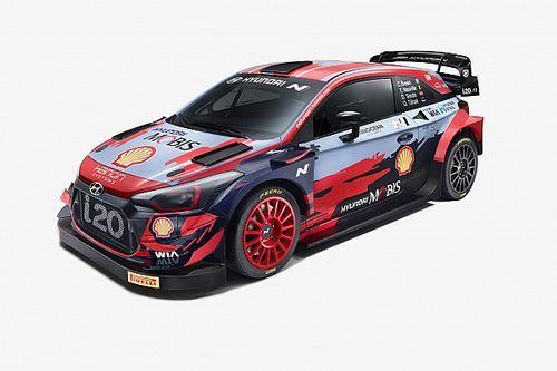 Фото: Hyundai i20 Coupe WRC 2021 года