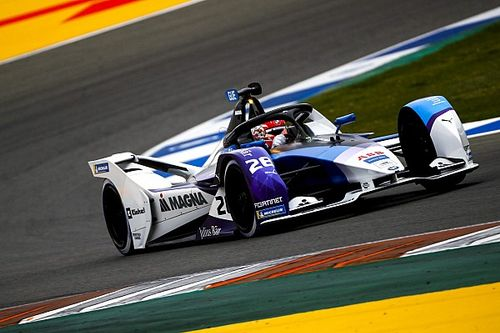 Valencia E-Prix: Gunther sets the pace in practice for BMW