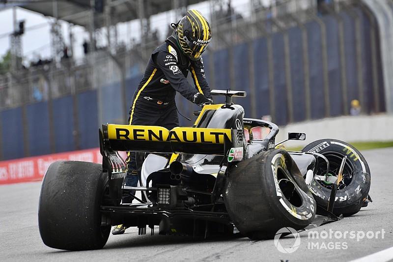 Fotogallery F1: il brutto incidente di Hulkenberg nelle Libere 2 del GP del Brasile
