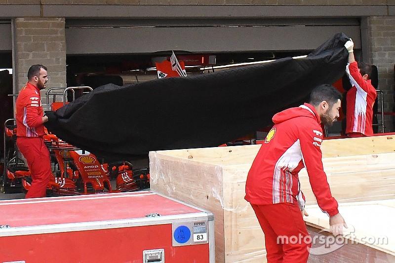 "Fontos csomagot hozott a ""posta"" a Ferrarinak Austinba"