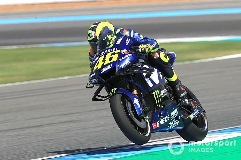 Rossi bingung dengan kemajuan YZR-M1