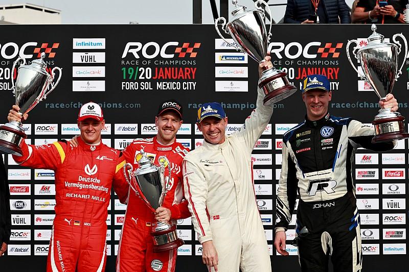 Race Of Champions: Tim Nordik taklukkan duet Vettel-Schumacher