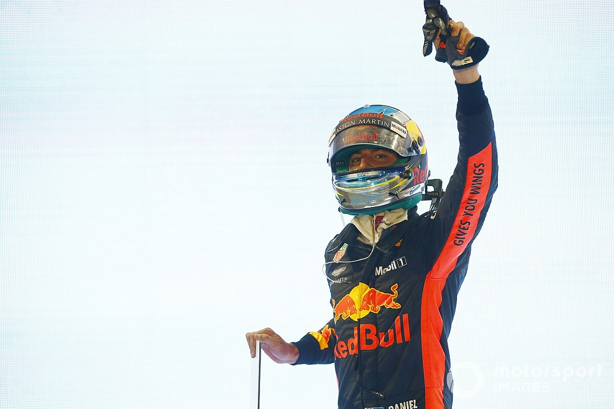 Ricciardo admet avoir sous-estimé le stress de son transfert
