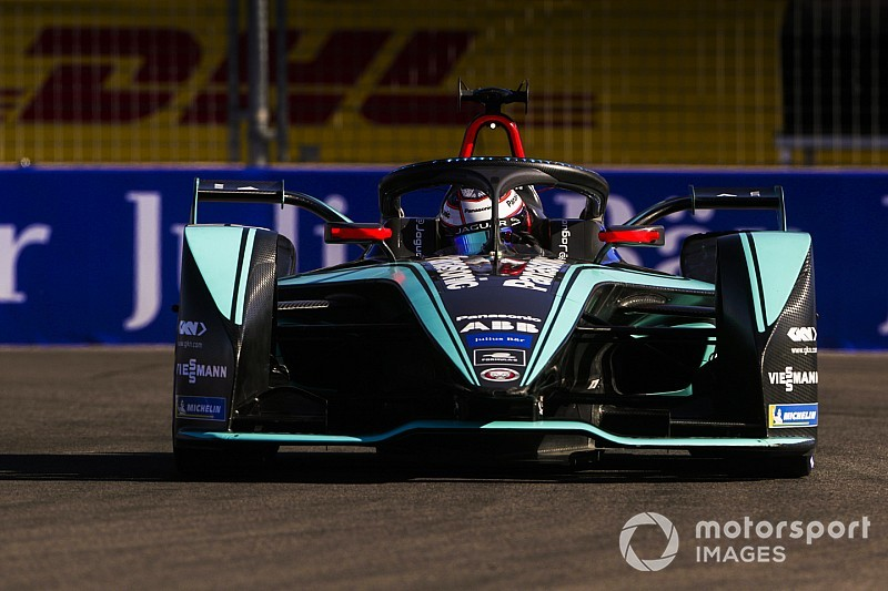 Marrakesh E-Prix: Evans tops practice for Jaguar
