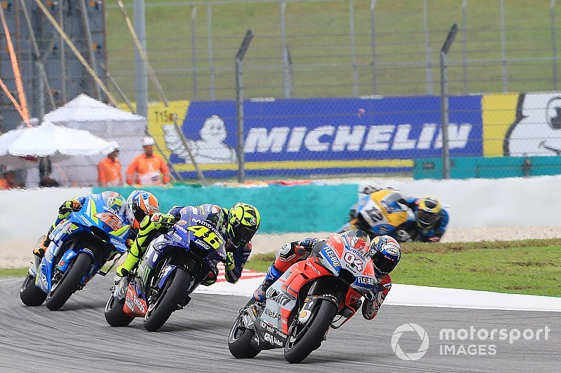 Stand MotoGP-kampioenschap 2018: Dovizioso stelt P2 veilig door crash Rossi