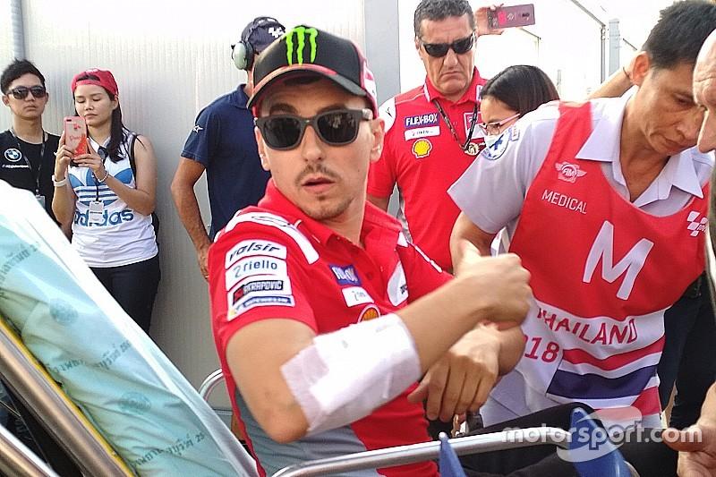 Lorenzo, Tayland yarışına katılamayacak!