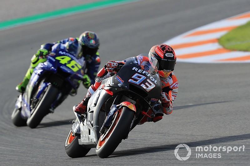 """Rossi dice que Márquez """"es un valiente"""" y admite que le"""