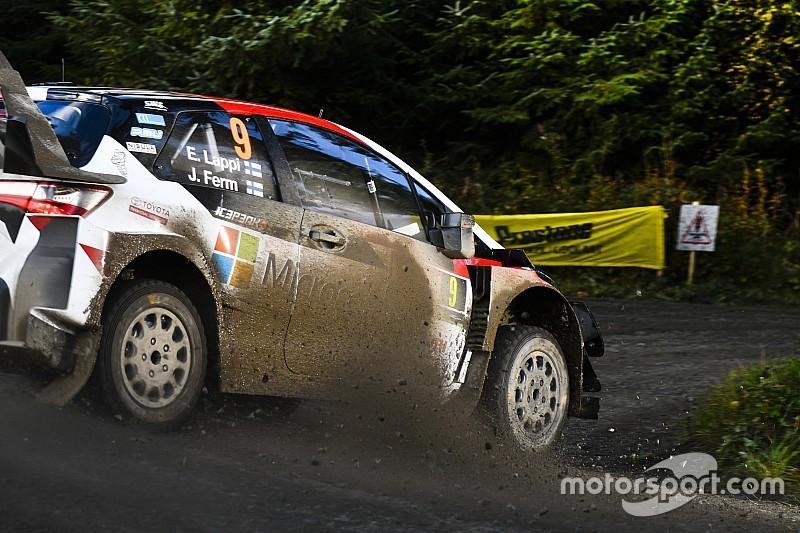 Britanya WRC: Toyota ve Lappi hızlı başladı