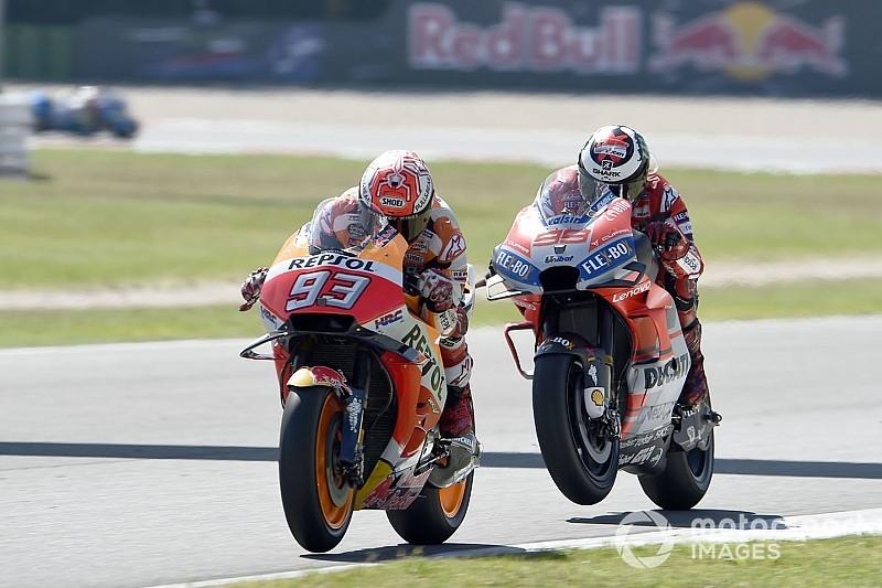 Marquez: Ducati'nin yükselişte geç kalması nedeniyle şanslıyım