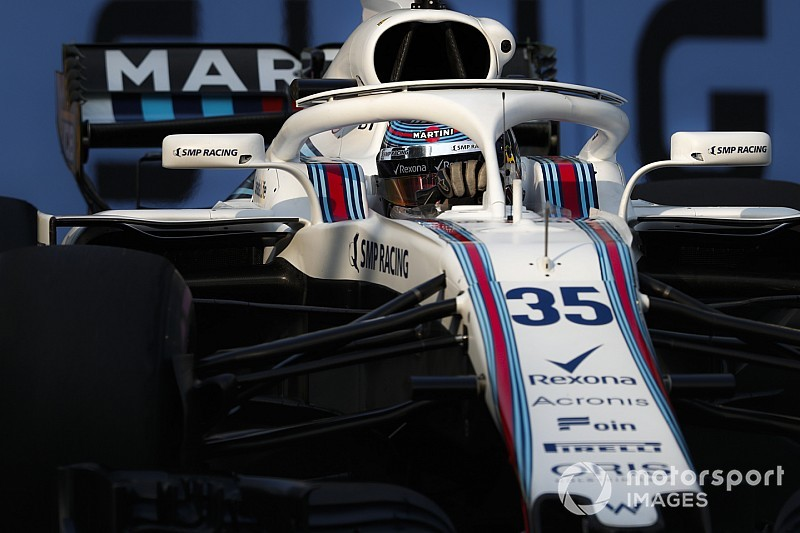 Sirotkin et Williams en mode