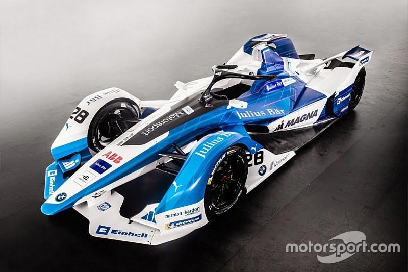 BMW dévoile sa toute première Formule E