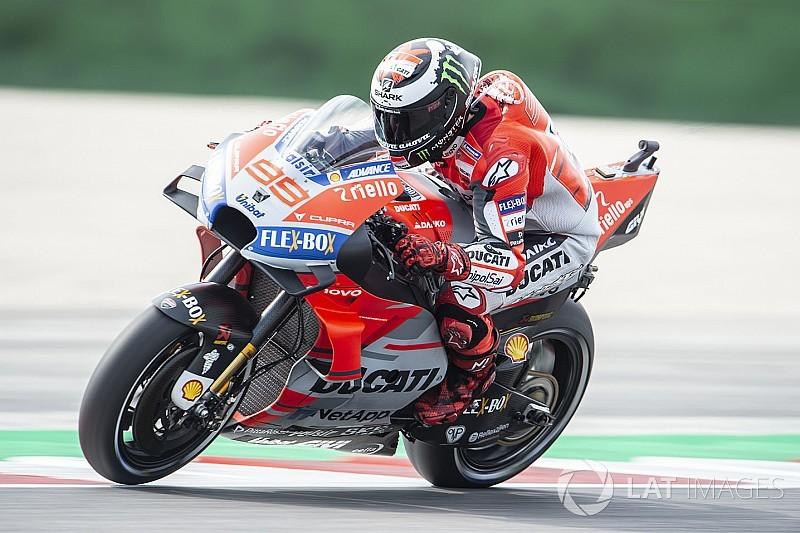 MotoGP Misano: Lorenzo tur rekoruyla pole'de, Marquez kaza yaptı