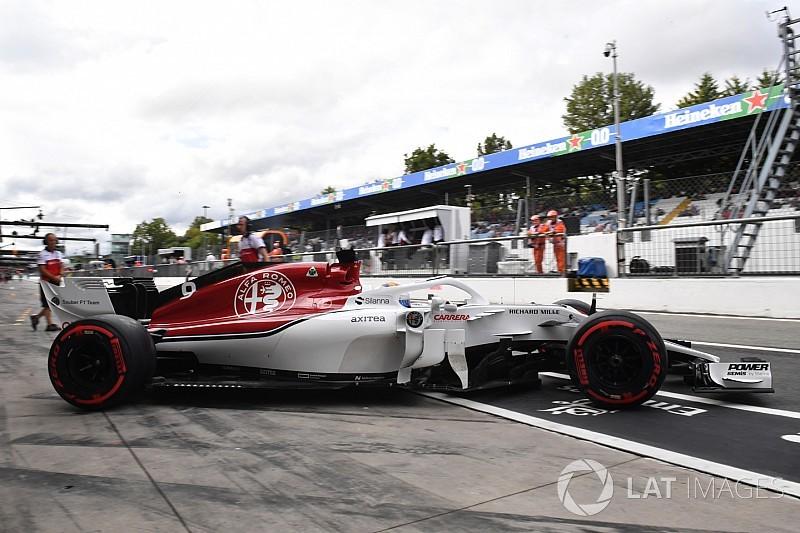Sauber, büyük kazanın ardından DRS'deki