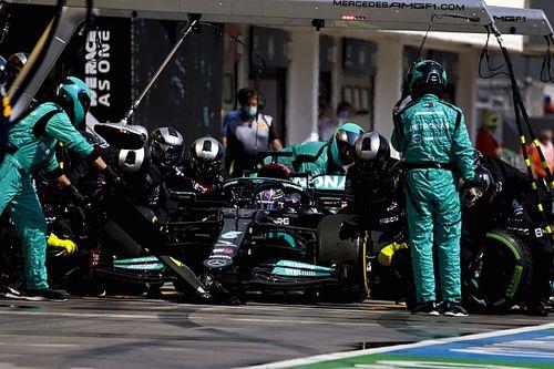 Masi explica qué hubiera pasada con Hamilton en los pits en el reinicio
