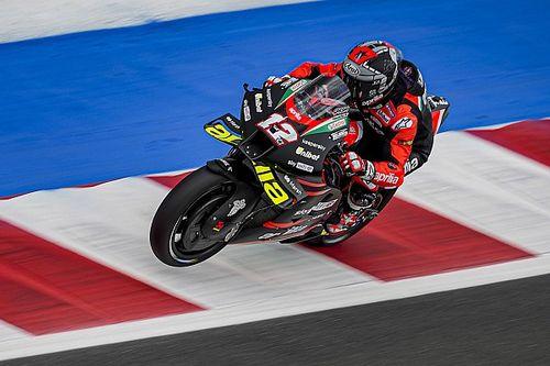 Vinales staying calm despite topping Misano MotoGP practice