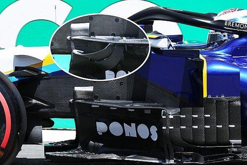 Техника: Williams переделала машину для борьбы с ветром