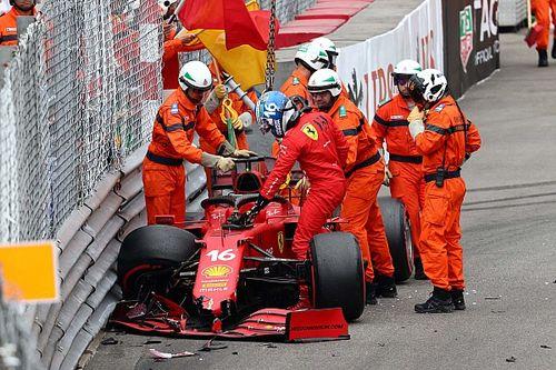 لوكلير خارج سباق موناكو بسبب مشكلة على محور التشغيل