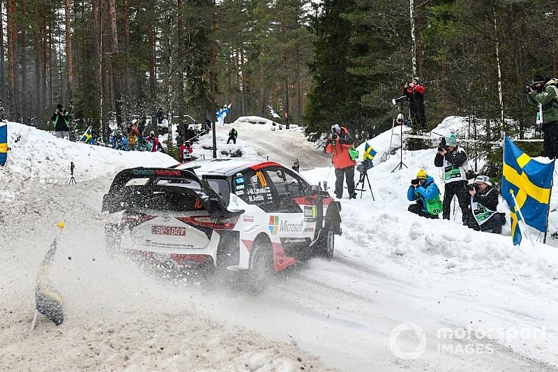 GALERÍA: Las mejores fotos de la primera jornada del Rally de Suecia