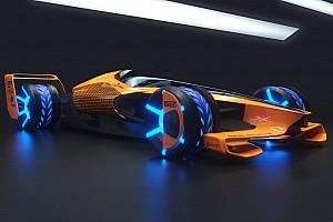 McLaren guarda al 2050: ecco la concept MCLExtreme e una visione sui GP di F1 del futuro