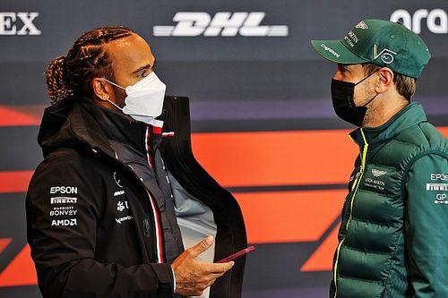 """Vettel: """"Hamilton, Bahreyn'de Verstappen'e göre 'daha akıllı' davrandı"""""""
