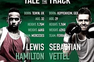 Fórmula 1 Últimas notícias Casa de apostas propõe luta de boxe entre Hamilton e Vettel