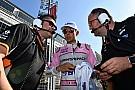 """Force India: """"Elfogadhatatlan, amit Ocon és Pérez csinált Bakuban"""""""