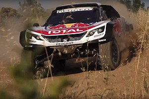Dakar Breaking news Peugeot unveils new 3008DKR Maxi for Dakar 2018