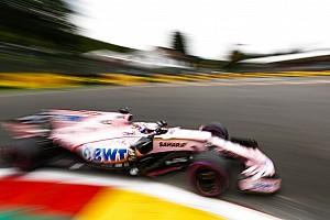 F1 Noticias de última hora Sergio Pérez por detrás de Ocon en el inicio en Bélgica