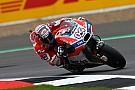 MotoGP Inggris: Dovizioso nodai rekor Rossi, Marquez gagal finis