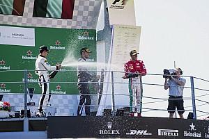 FIA F2 Reporte de la carrera Luca Ghiotto remonta y gana en Monza con un gran Merhi quinto