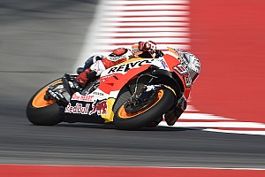 MotoGP Репортаж з практики Гран Прі Сан-Маріно: Маркес очолив протокол дощової розминки — і впав
